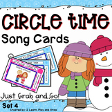 Winter and Valentines Day Songs, Rhymes and Fingerplay Cards  - Set 4