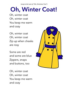 Winter Rhymes and Songs for Circle Time, Morning Meeting and Preschool