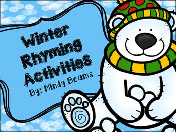 Rhyming Activities - Winter