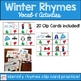 Winter Rhyming Activities and Clip Cards