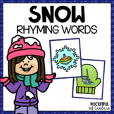 Winter Rhyming Game