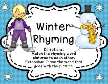 Rhyming | Rhyming Words | Rhyming Activities