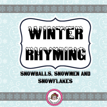 Winter Rhyming Activity Pack
