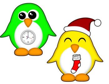 Winter Rhyming Penguins
