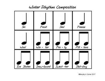 Winter Rhythm Composition