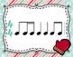 Winter Rhythm Flashcards - Sixteenth Combinations - FREEBIE