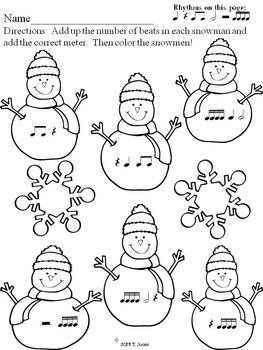 Winter Rhythm Fun