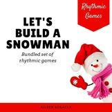 Distance Learning Winter Rhythm Game Bundle {Let's Build a