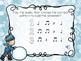 Winter Rhythm Game for Quarter Rest {Let's Build a Snowman}