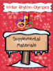 Winter Rhythm Olympics- Five Musical Station Games with a Cool Theme