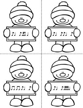 Winter Rhythm Races {Ti Ta Ti / Syncopation}