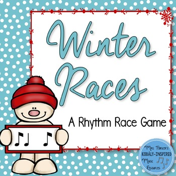 Winter Rhythm Races {Ti Ta Ti / Syncopation}