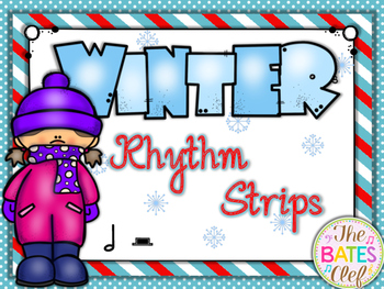 Winter Rhythm Strips Ta-ah / Half Rest