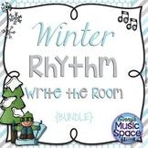 Winter Rhythm Write the Room {BUNDLE} #musiccrewJANevents