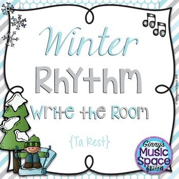 Winter Rhythm Write the Room {Ta Rest}