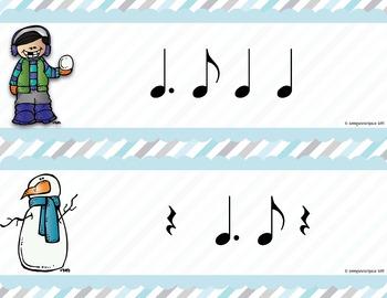 Winter Rhythm Write the Room {Tam Ti}