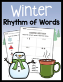 WINTER Rhythm of Words K-2
