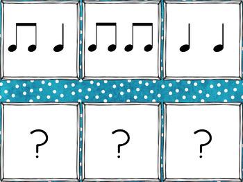 Winter Rhythms: a matching game