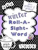 Winter Roll-A-Sight-Word!