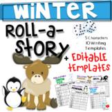 Winter Roll A Story (Print & Editable)