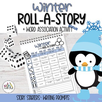 Winter Roll-A-Story & Word Association