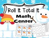 Winter (Roll It Total It) Math Center