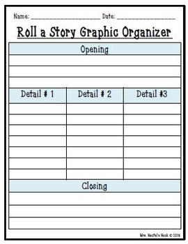 Winter Roll a Story - Story Prompts, Graphic Organizers, Word Lists and Rubric