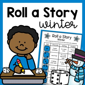 Winter Roll a Story Writing Prompt