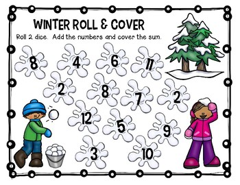 Winter Roll and Cover