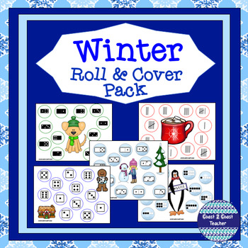 Winter Math Roll and Cover Pack