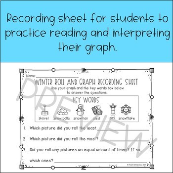 Winter Roll and Graph FREEBIE!