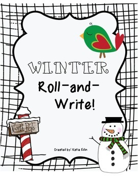 Winter Roll-and-Write