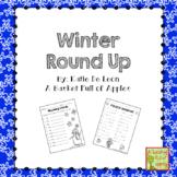 Winter Round up: Language arts and math printables