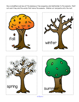 Winter SEASONAL CHANGES Activities and Centers for Preschool and Pre-K