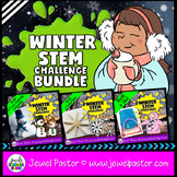 Winter STEM Activities BUNDLE (Winter STEM Challenges)