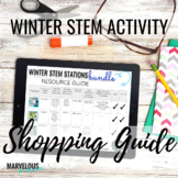 Winter STEM Activities | FREE Shopping Guide