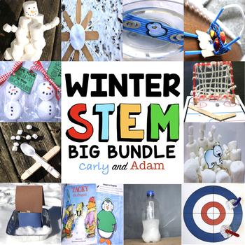Winter STEM Activities and Winter STEM Challenges Big Bundle