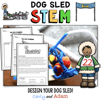 Dog Sledding STEM Activity