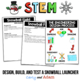 Snowball Fight Challenge Winter STEM Activity