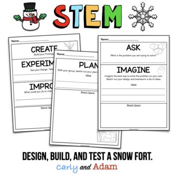 Winter STEM: Build a Snow Fort