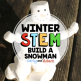 Build a Snowman Winter STEM Activity + Digital Distance Learning