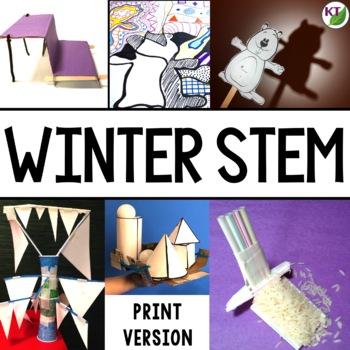 Winter STEM Challenge Bundle