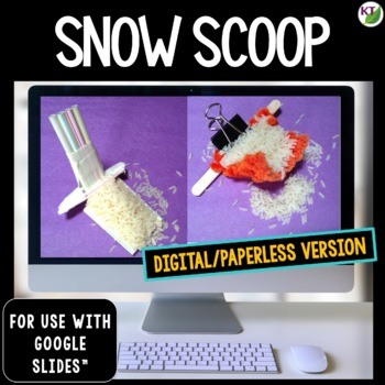 Winter STEM Challenge Snow Scoop 1:1 PAPERLESS