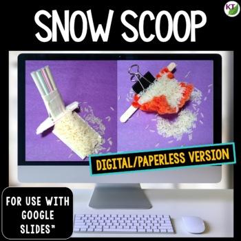 Winter STEM Challenge Snow Scoop 1:1 PAPERLESS