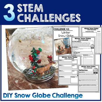 Winter STEM Challenges - December STEM