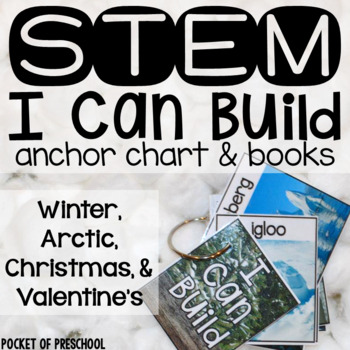 Winter STEM I Can Build Cards, Books, and Anchor Charts