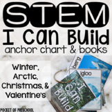 Winter, Christmas, and Valentine's Day STEM I Can Build
