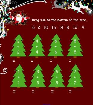 Winter Santa /Holiday Themed Activities Smart Notebook