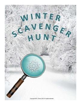 Winter Scavenger Hunt Activities