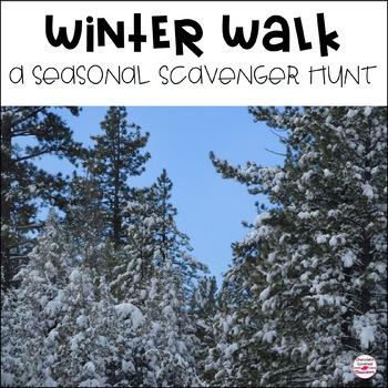 Winter Scavenger Hunt for Seasonal Changes